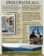 Sweetwater 2014 Newsletter