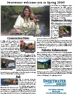 Sweetwater 2006 Newsletter - 2nd Edition