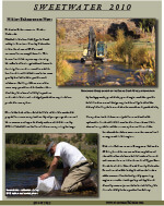 Sweetwater 2010 Newsletter