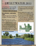 Sweetwater 2011 Newsletter